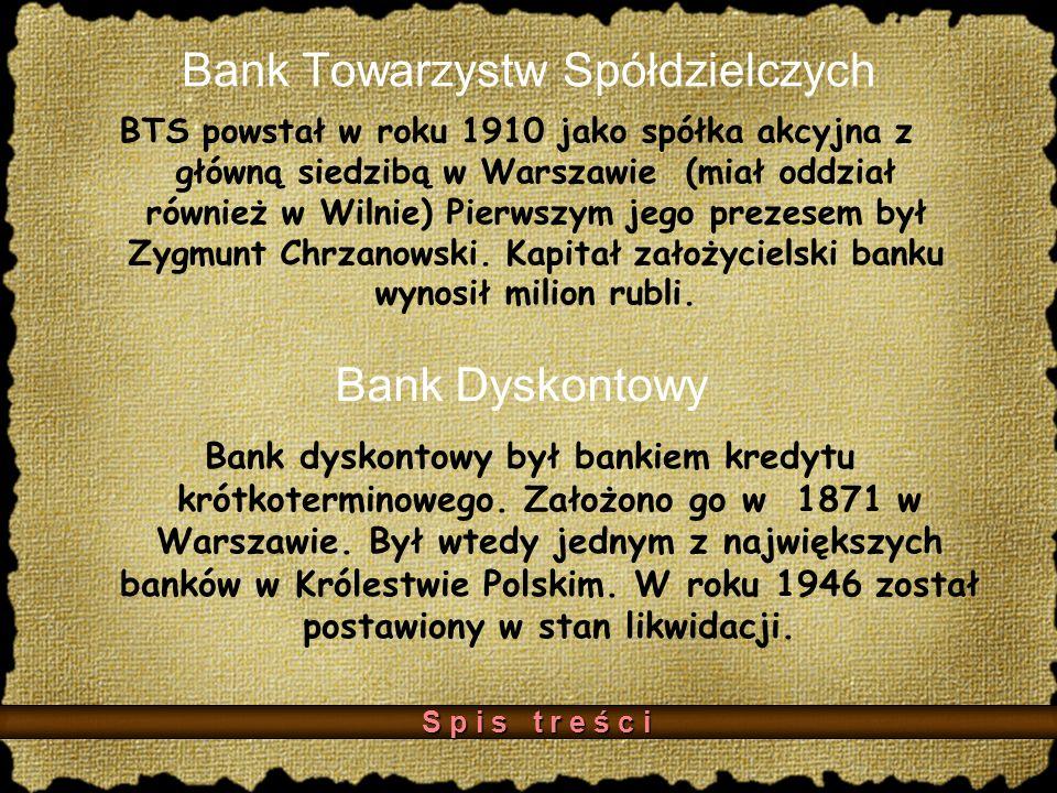 Bank Towarzystw Spółdzielczych