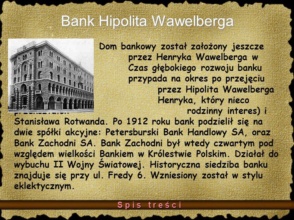Bank Hipolita Wawelberga