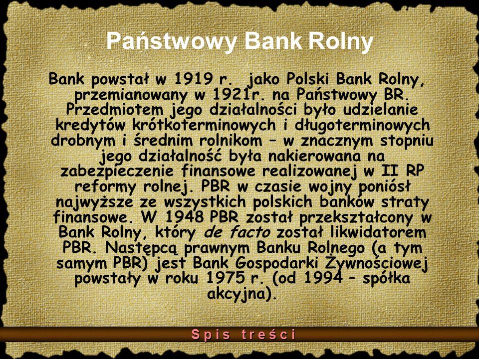 Państwowy Bank Rolny