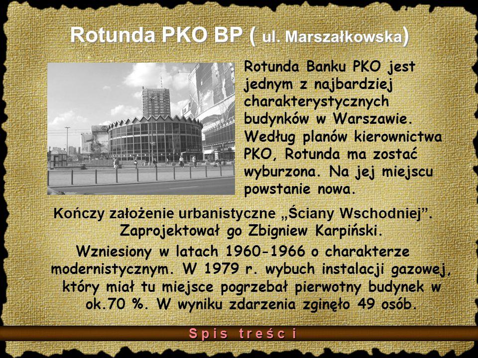 Rotunda PKO BP ( ul. Marszałkowska)
