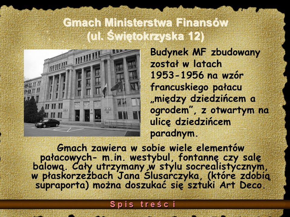 Gmach Ministerstwa Finansów (ul. Świętokrzyska 12)