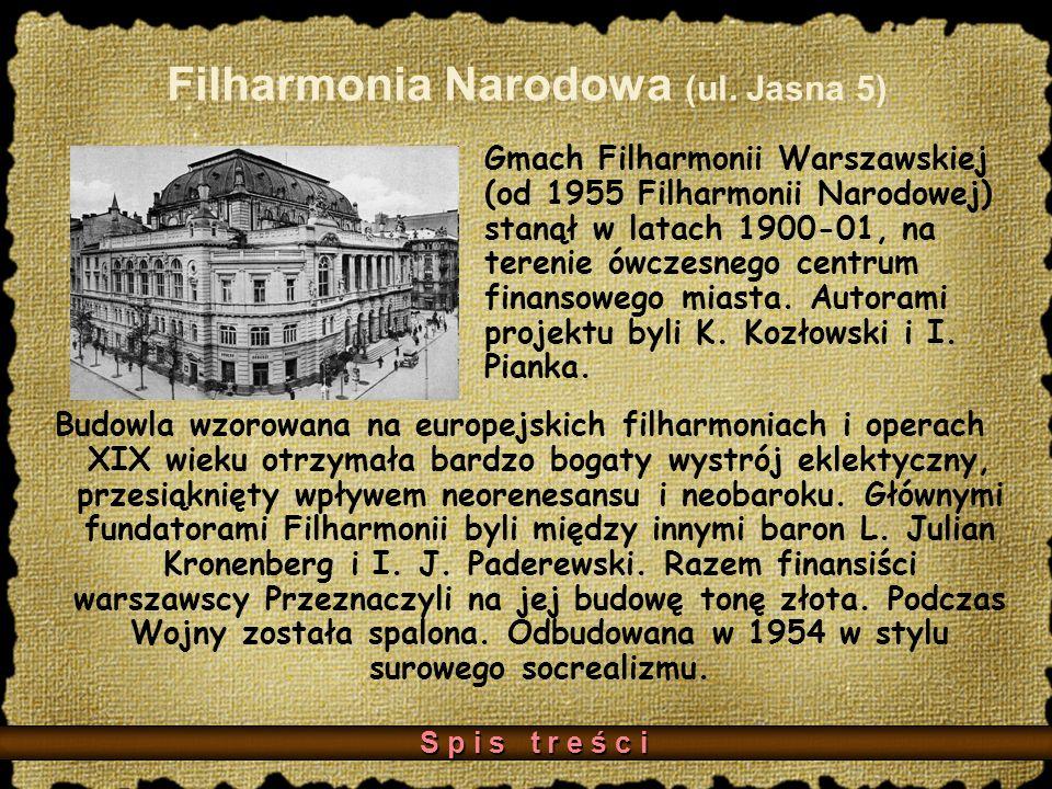 Filharmonia Narodowa (ul. Jasna 5)