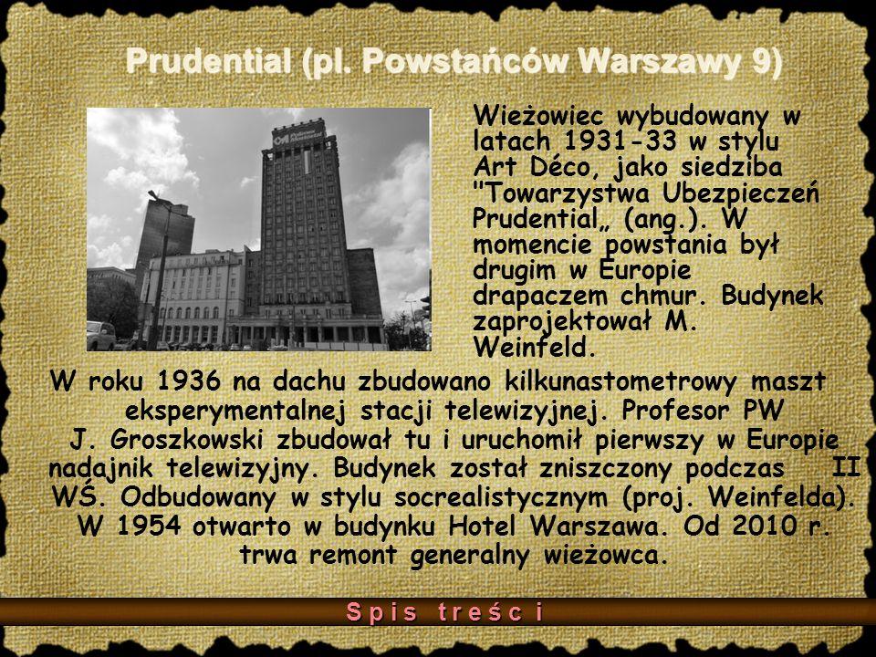 Prudential (pl. Powstańców Warszawy 9)