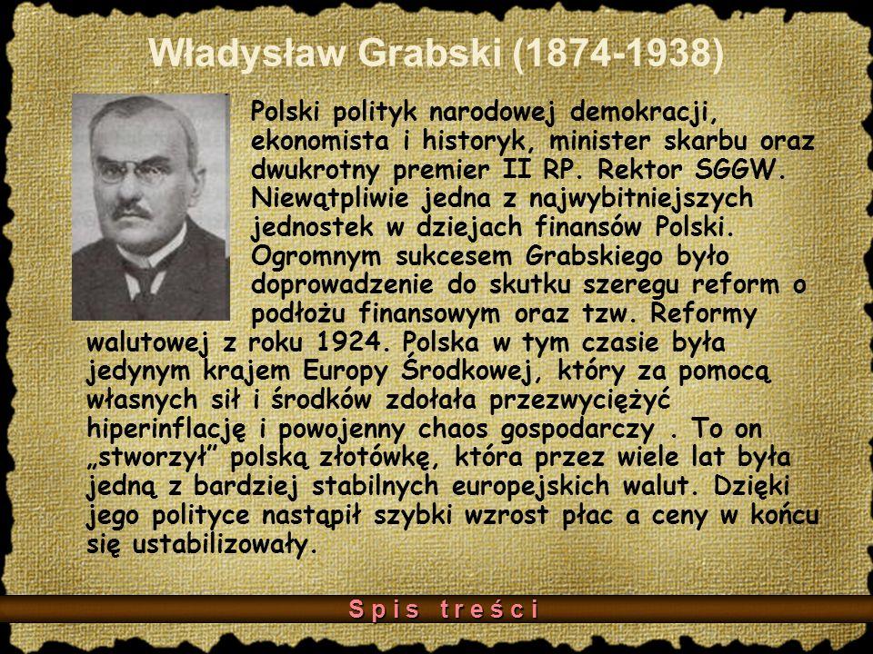 Władysław Grabski (1874-1938)