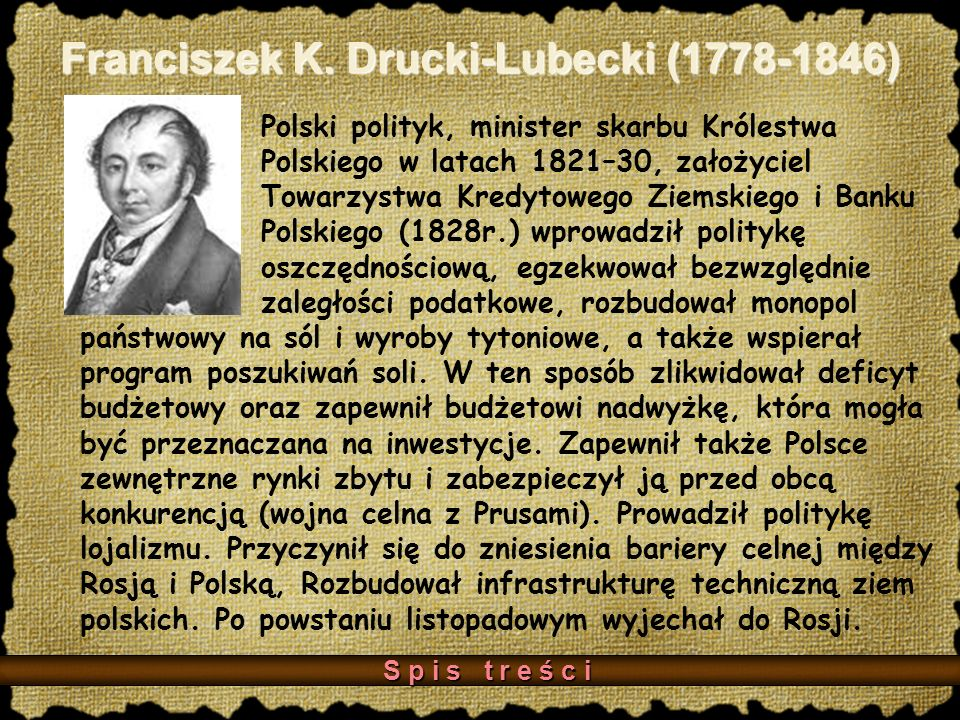 Franciszek K. Drucki-Lubecki (1778-1846)