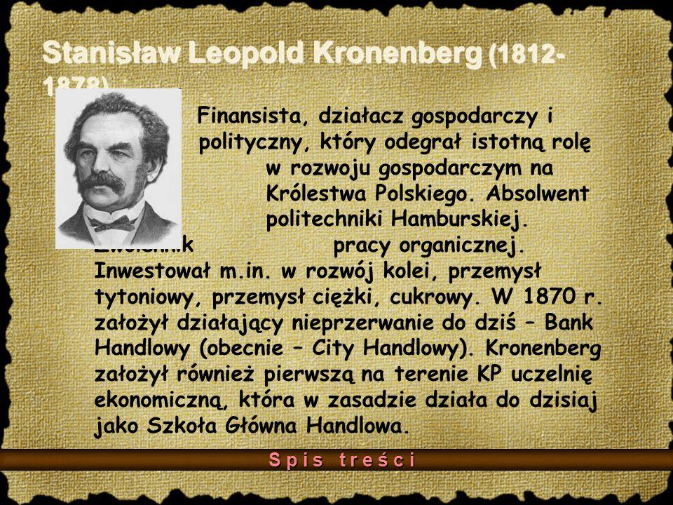 Stanisław Leopold Kronenberg (1812-1878)