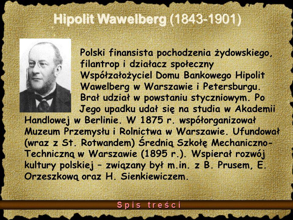 Hipolit Wawelberg (1843-1901)