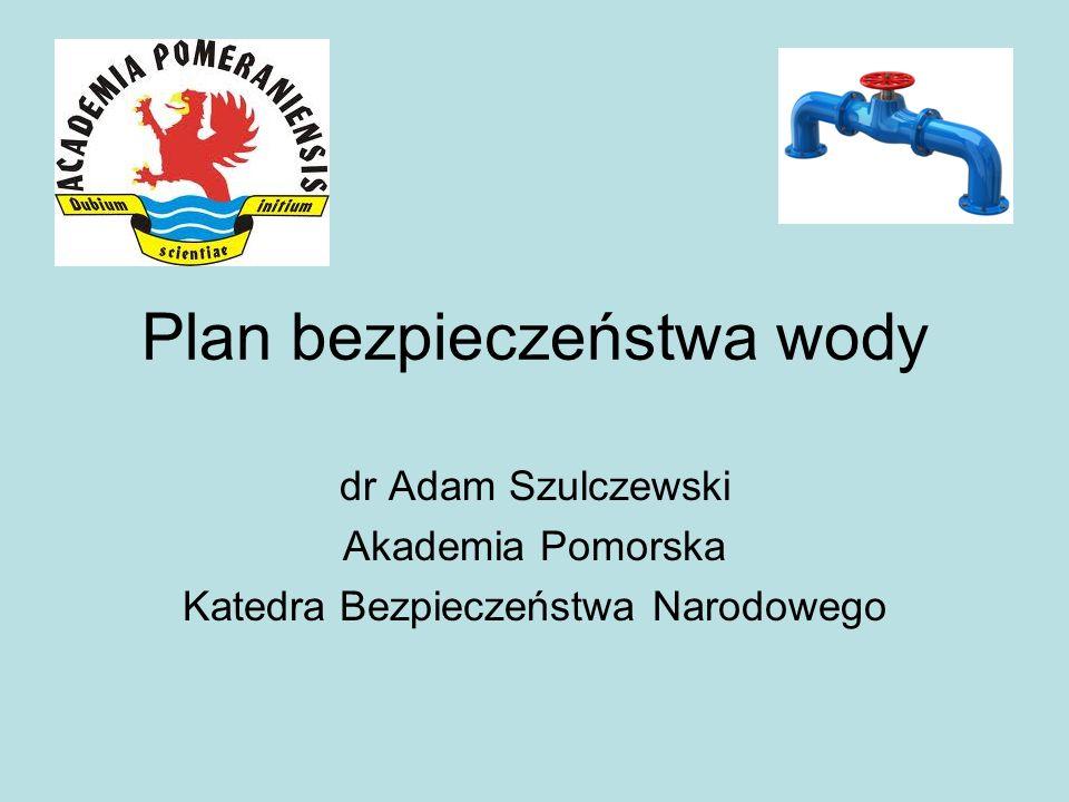 Plan bezpieczeństwa wody