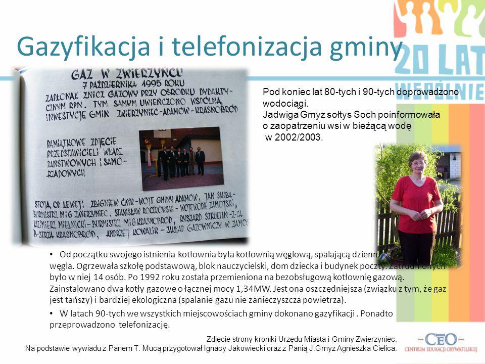 Gazyfikacja i telefonizacja gminy