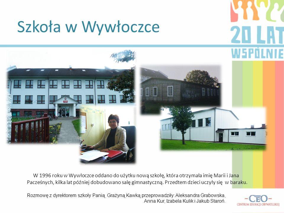 Szkoła w Wywłoczce
