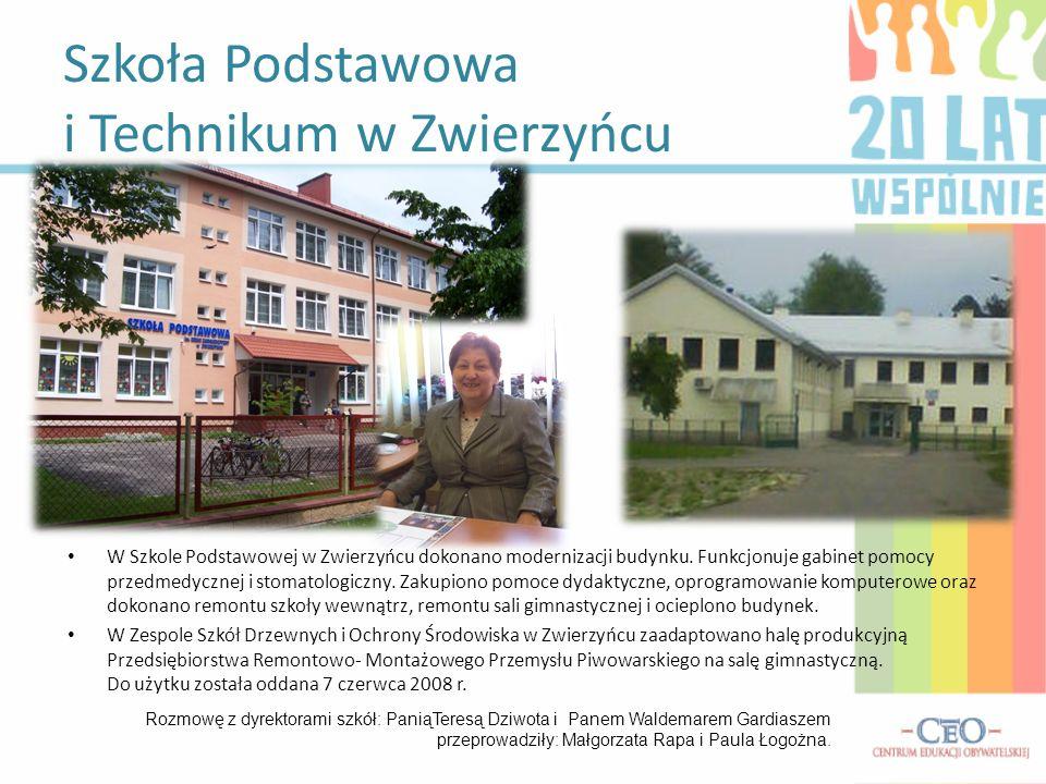 Szkoła Podstawowa i Technikum w Zwierzyńcu