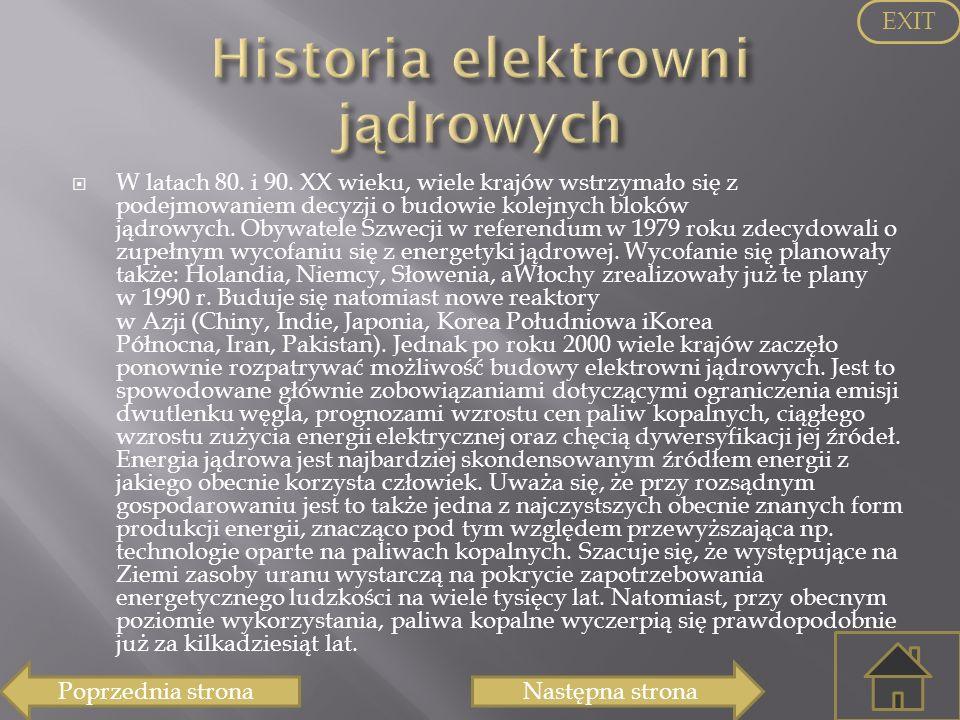 Historia elektrowni jądrowych
