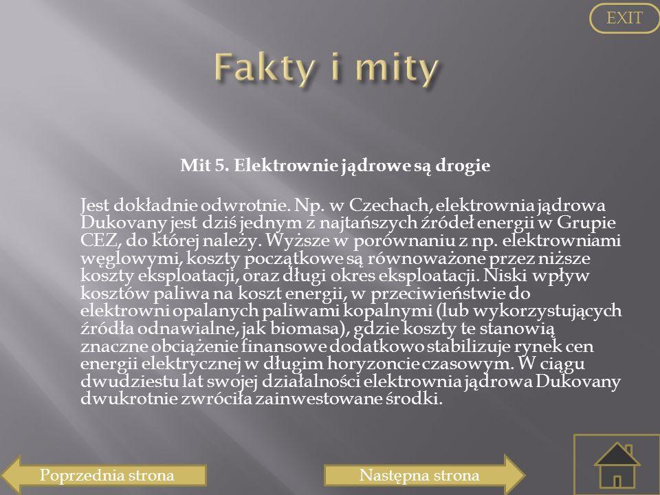 EXIT Fakty i mity.