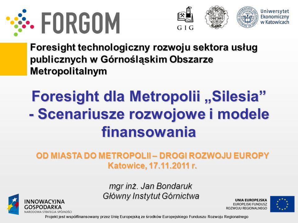 """Foresight dla Metropolii """"Silesia"""