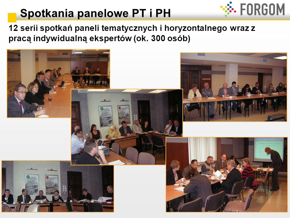 Spotkania panelowe PT i PH