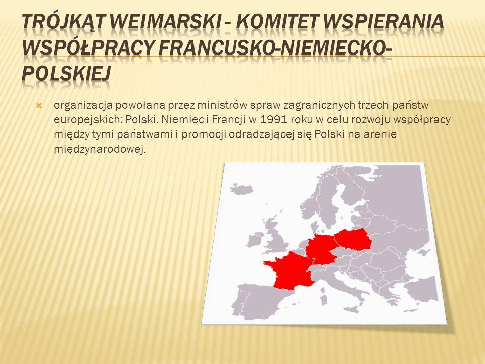 Trójkąt Weimarski - Komitet Wspierania Współpracy Francusko-Niemiecko-Polskiej