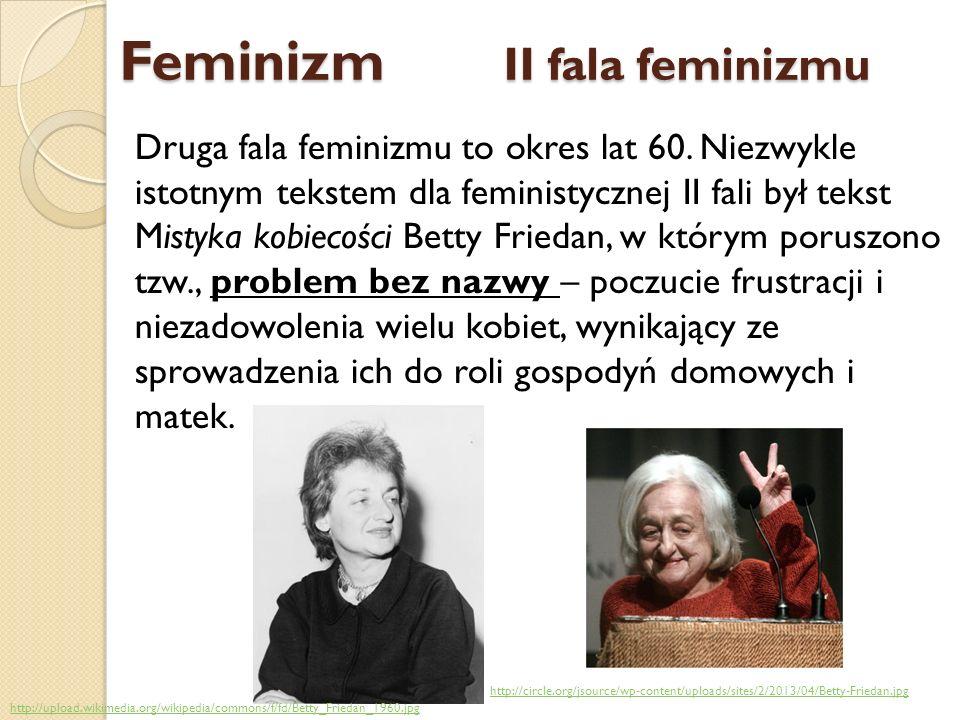 Feminizm II fala feminizmu