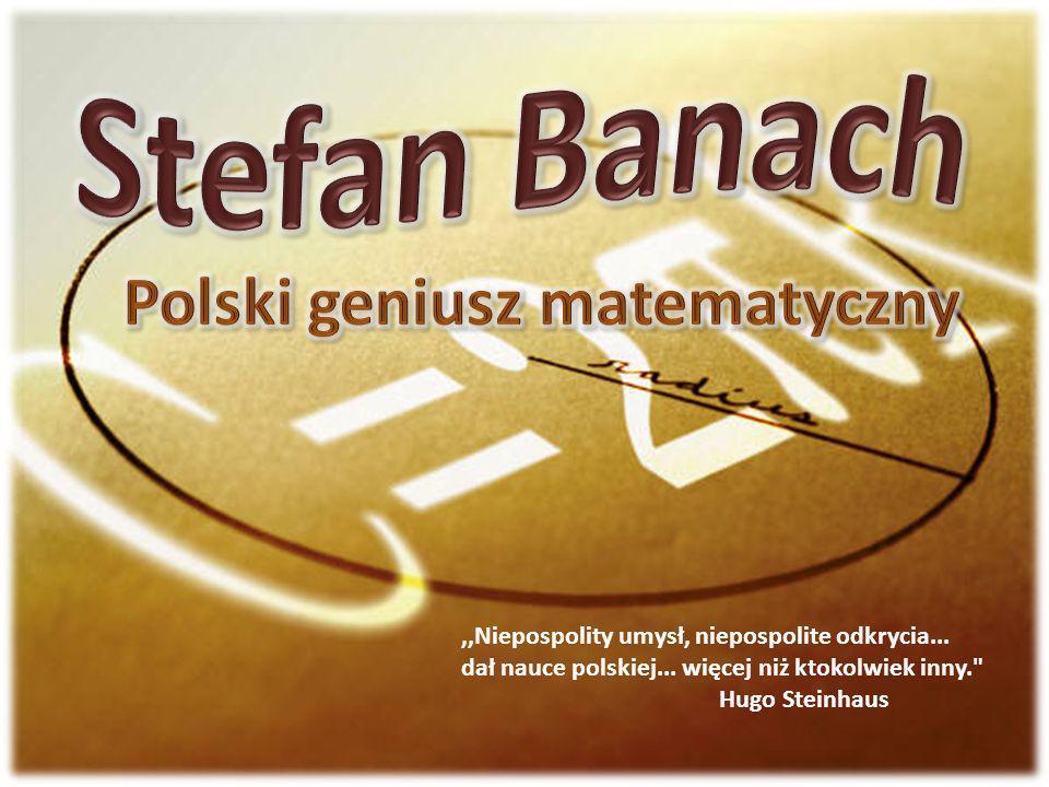 Polski geniusz matematyczny