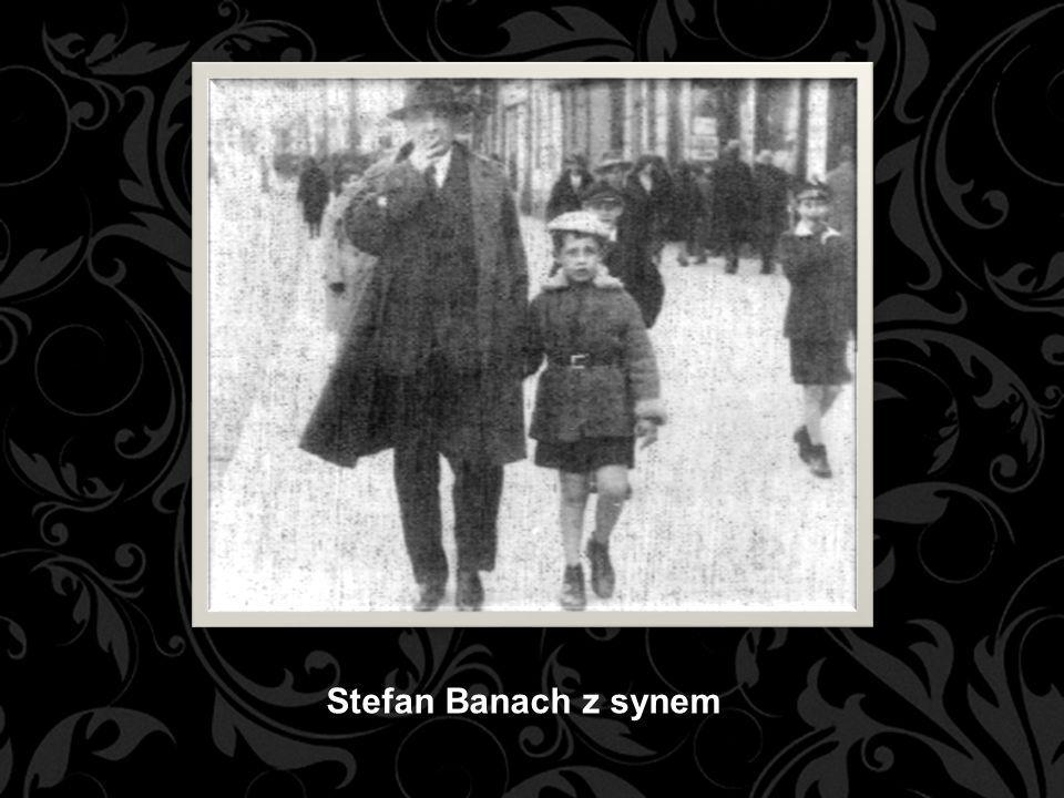 Stefan Banach z synem