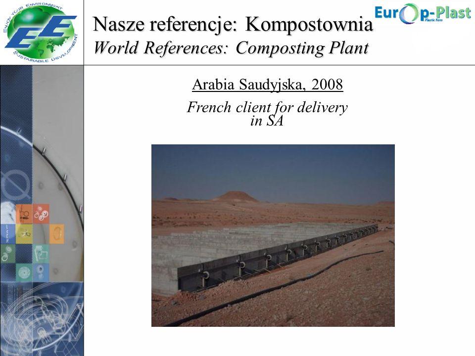 Nasze referencje: Kompostownia World References: Composting Plant