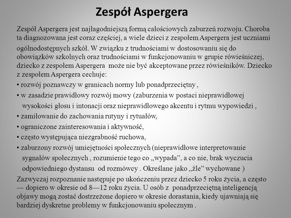 Zespół Aspergera