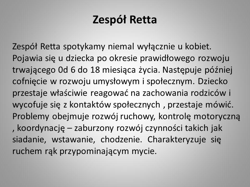 Zespół Retta