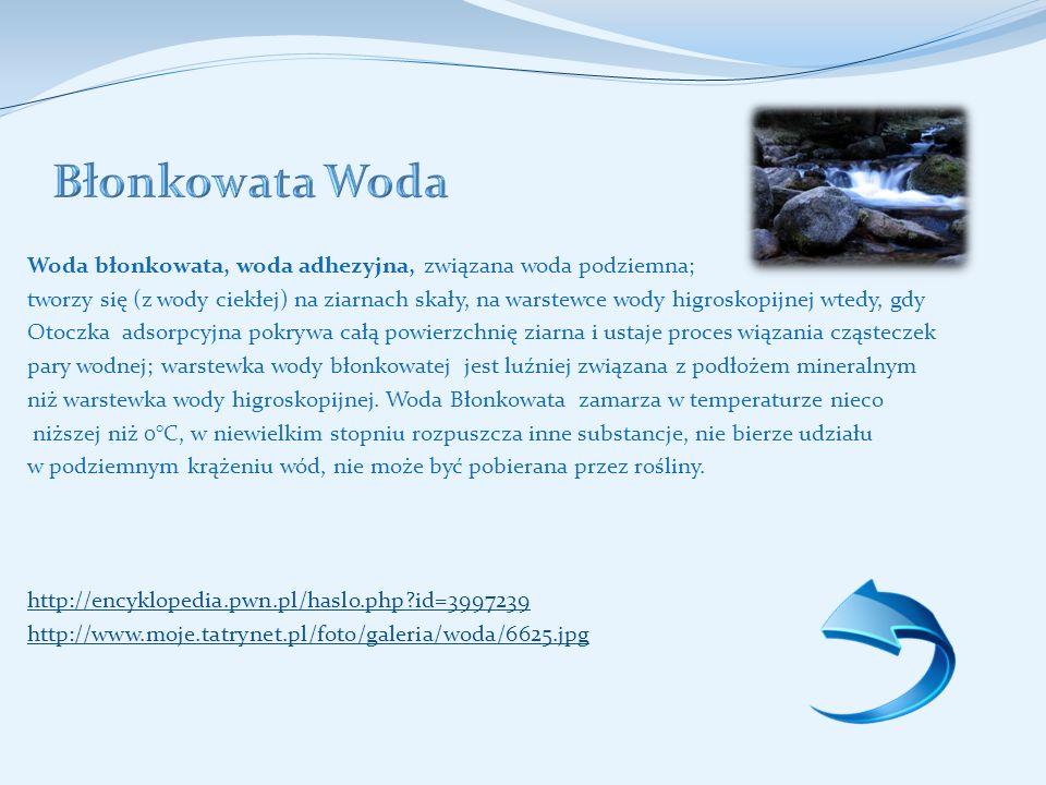 Błonkowata Woda