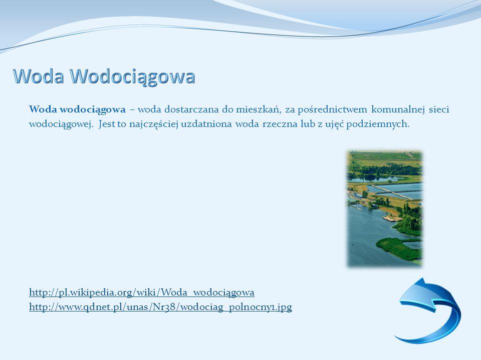 Woda Wodociągowa