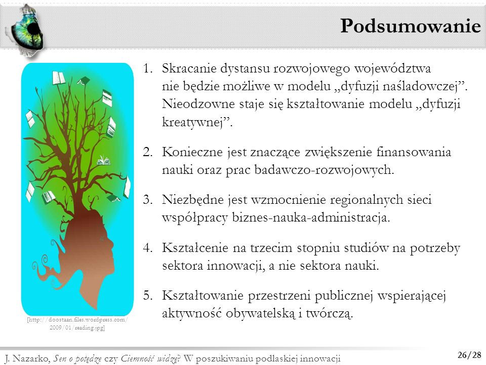 J. Nazarko, Foresight technologiczny NT FOR Podlaskie 2020