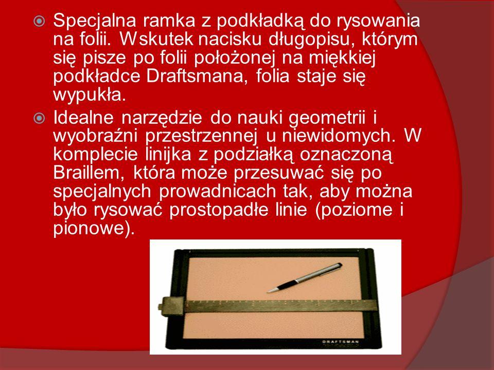 Specjalna ramka z podkładką do rysowania na folii