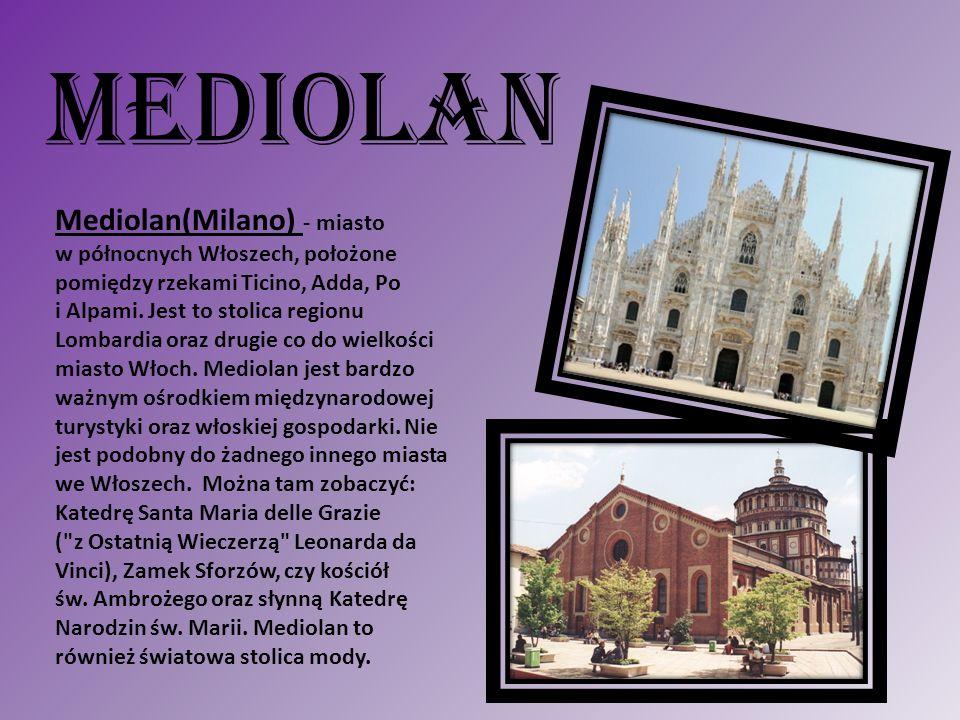 MEDIOLAN Mediolan(Milano) - miasto