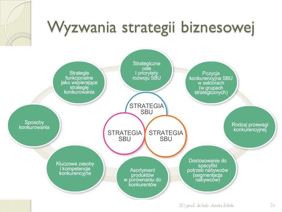 Wyzwania strategii biznesowej