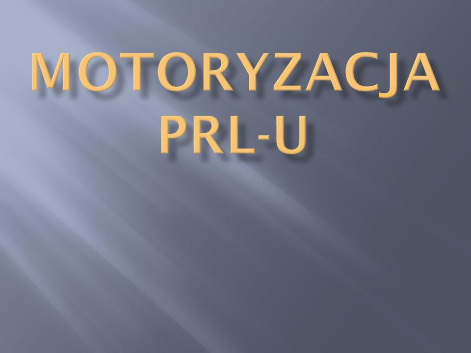 Motoryzacja PRL-u