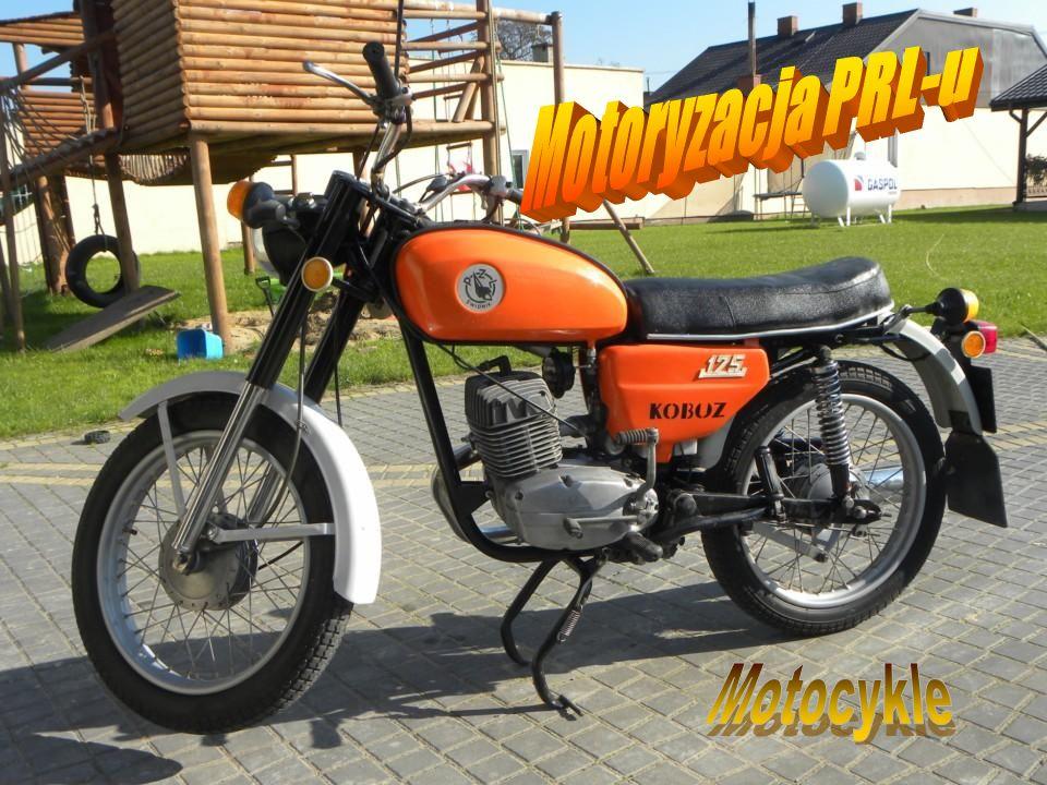 Motoryzacja PRL-u Motocykle