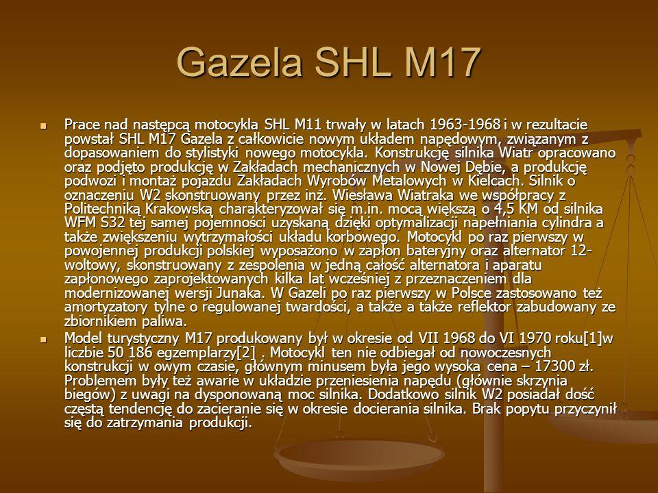 Gazela SHL M17
