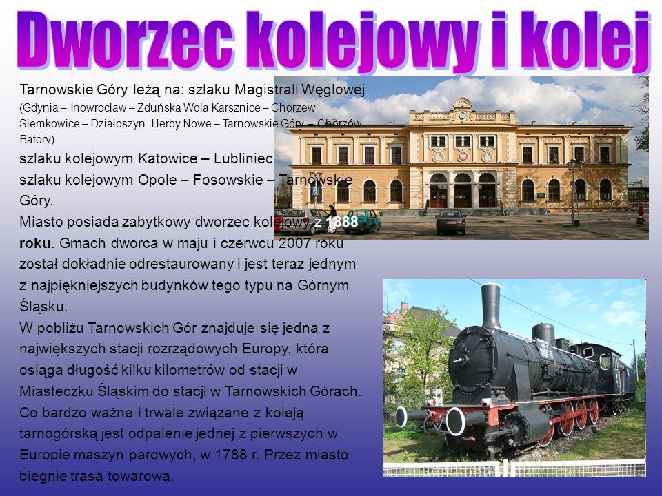 Dworzec kolejowy i kolej