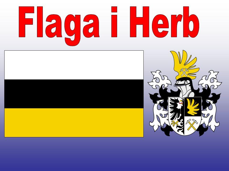 Flaga i Herb HERB jeden z głównych symboli miasta Tarnowskie Góry.