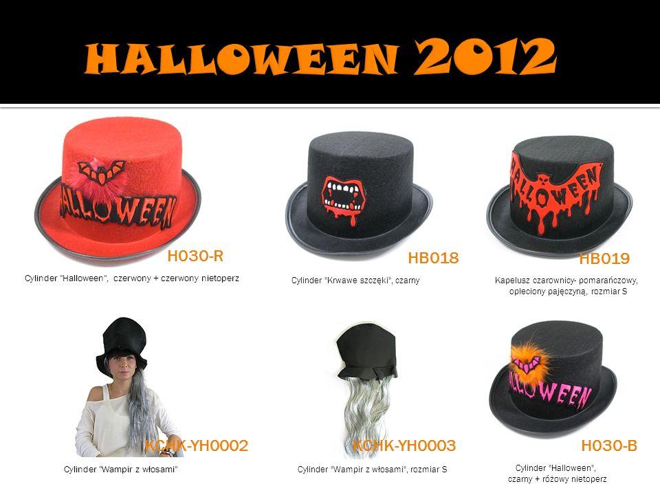 HALLOWEEN 2012 H030-R HB018 HB019 KCHK-YH0002 KCHK-YH0003 H030-B