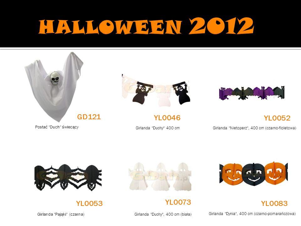 HALLOWEEN 2012 GD121 YL0046 YL0052 YL0073 YL0053 YL0083