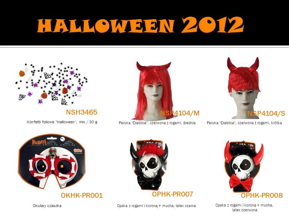 HALLOWEEN 2012 NSH3465 NSP4104/M NSP4104/S OPHK-PR007 OKHK-PR001