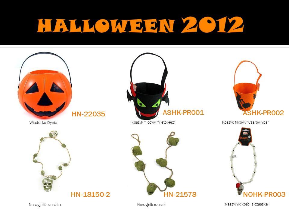 HALLOWEEN 2012 HN-22035 ASHK-PR001 ASHK-PR002 HN-18150-2 HN-21578