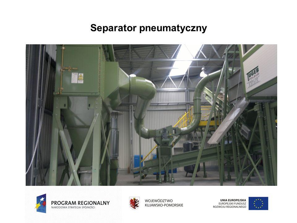 Separator pneumatyczny