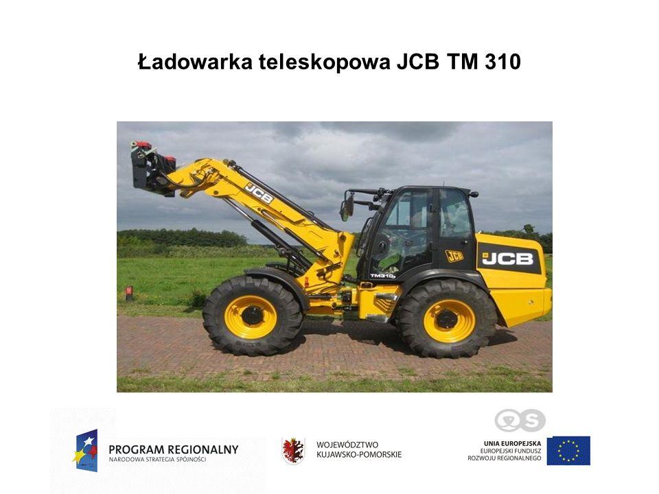 Ładowarka teleskopowa JCB TM 310