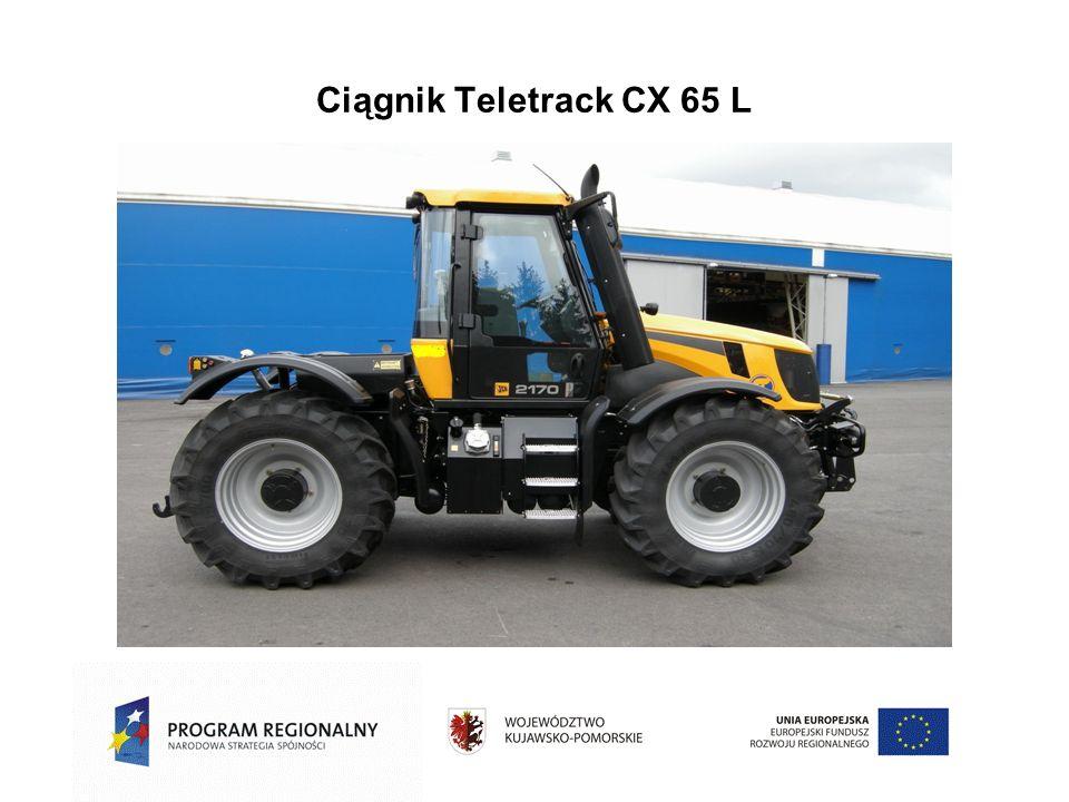 Ciągnik Teletrack CX 65 L