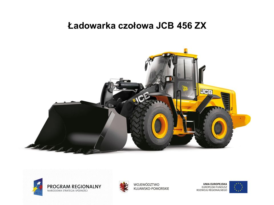 Ładowarka czołowa JCB 456 ZX