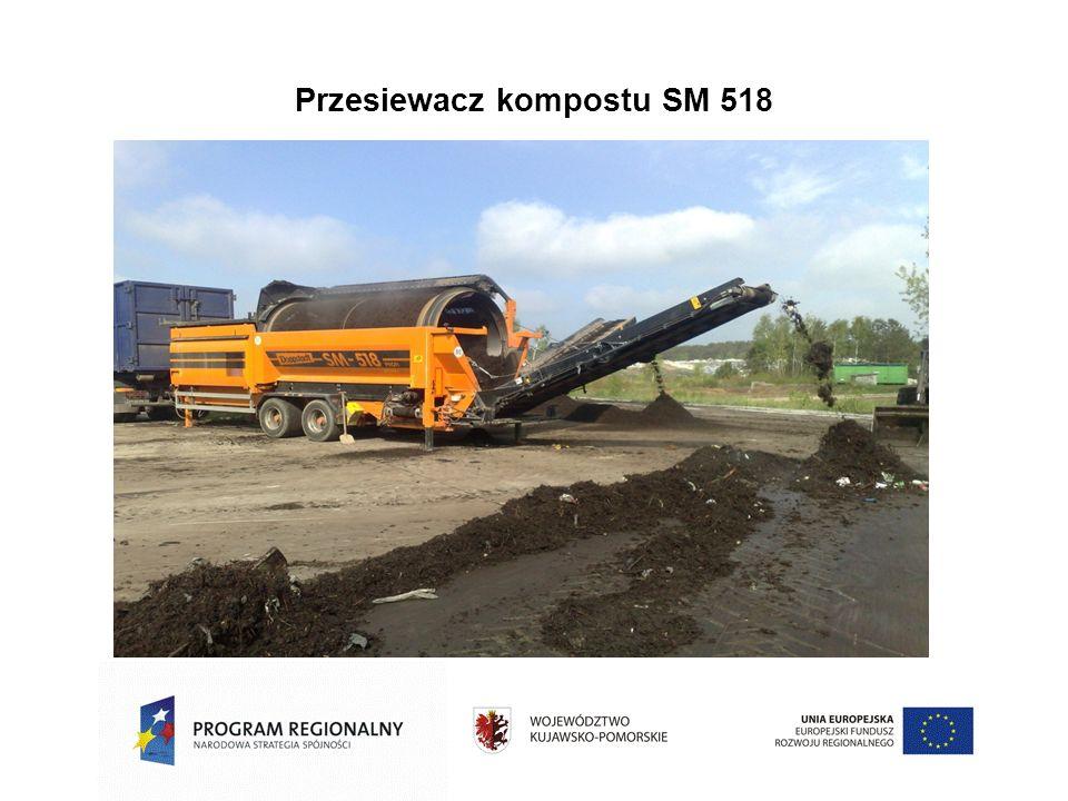 Przesiewacz kompostu SM 518