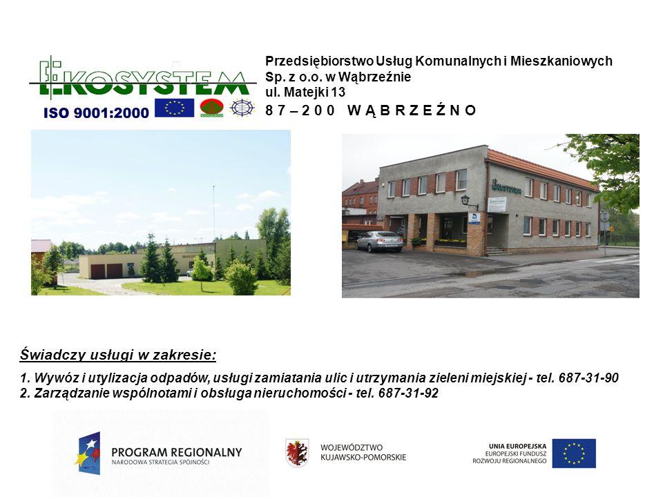 Przedsiębiorstwo Usług Komunalnych i Mieszkaniowych