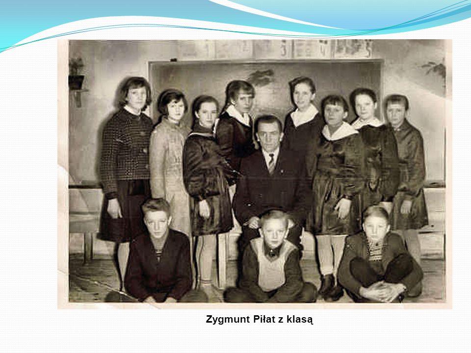 Zygmunt Piłat z klasą