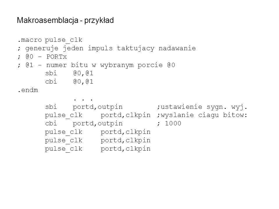 Makroasemblacja - przykład