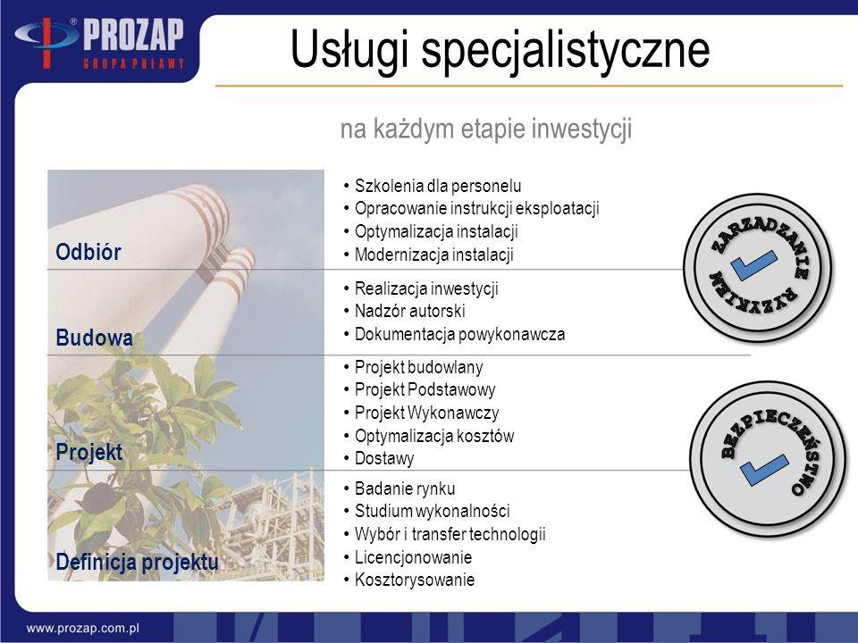 Usługi specjalistyczne